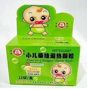 ●小儿柴桂退热颗粒/4g*12袋
